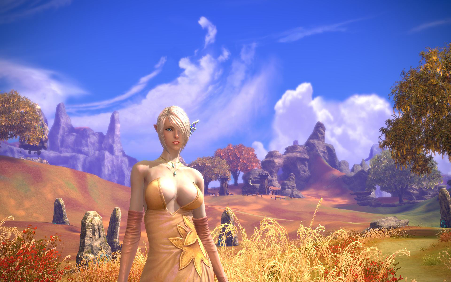 Mmorpg series with nude females porn pic